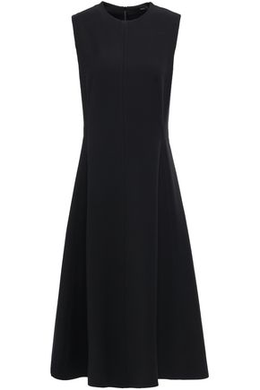 JOSEPH Fulton flared cady midi dress