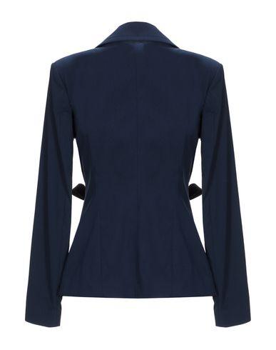 Фото 2 - Женский пиджак ANNARITA N TWENTY 4H темно-синего цвета