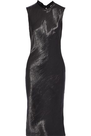 REBECCA VALLANCE Henri satin-jacquard dress