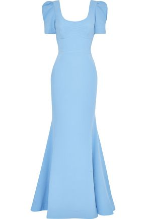 REBECCA VALLANCE Yves fluted cady gown