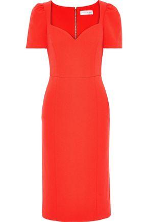 REBECCA VALLANCE L'Amour stretch-crepe dress