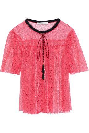 PHILOSOPHY di LORENZO SERAFINI Corded lace top