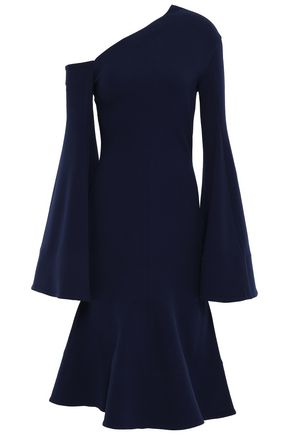 SOLACE LONDON Haso stretch-crepe dress