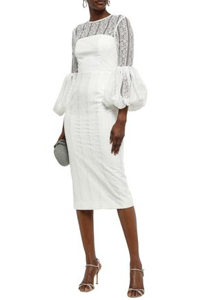 REBECCA VALLANCE Lou Lou lace mini dress