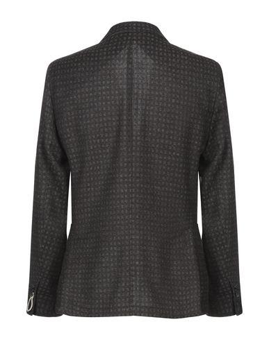 Фото 2 - Мужской пиджак PAOLONI темно-коричневого цвета