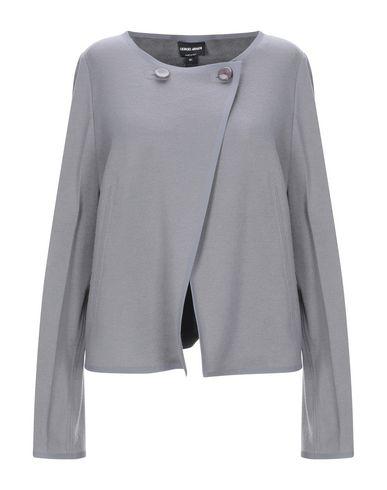 Фото - Женский пиджак  свинцово-серого цвета