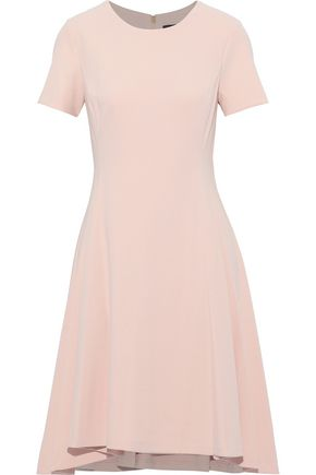 DONNA KARAN Flared stretch-crepe dress