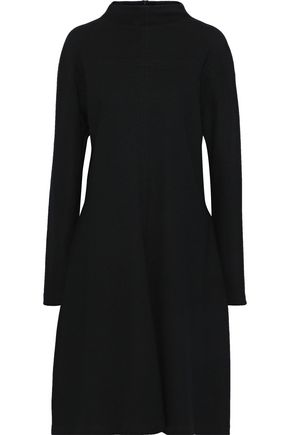 JIL SANDER Brushed-wool dress