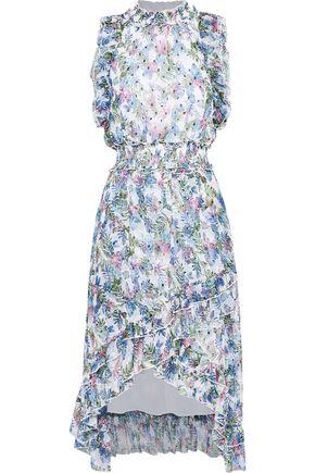 W118 by WALTER BAKER Marcella ruffle-trimmed fil coupé gauze dress