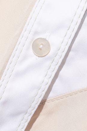 PETER PILOTTO Asymmetric cotton-poplin shirt