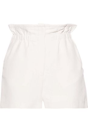 IRO Fineti gathered canvas shorts