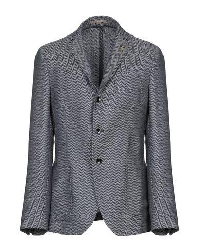 Фото - Мужской пиджак PAOLONI темно-синего цвета