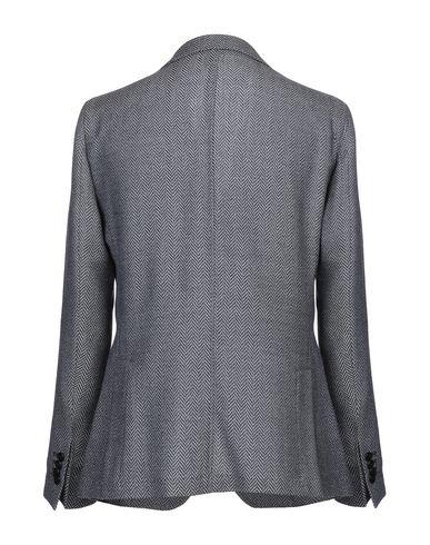 Фото 2 - Мужской пиджак PAOLONI темно-синего цвета