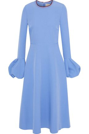 ROKSANDA Gathered cady midi dress