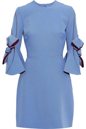 ROKSANDA Harlin bow-detailed crepe mini dress