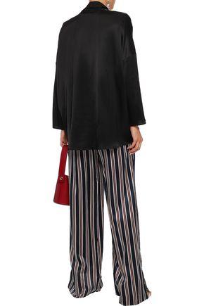 SONIA RYKIEL Tie-neck satin blouse
