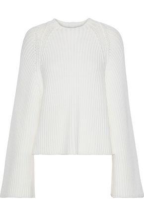 ROSETTA GETTY Ribbed-knit sweater