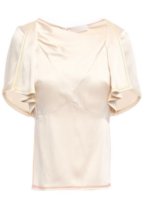 PETER PILOTTO Draped satin top