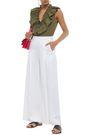MARNI Ruffled cotton-poplin blouse
