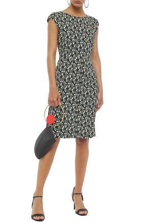 MARNI Floral-print crepe dress