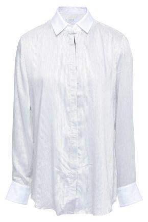 LA LIGNE Striped poplin shirt