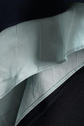 LA LIGNE Silk-crepe top
