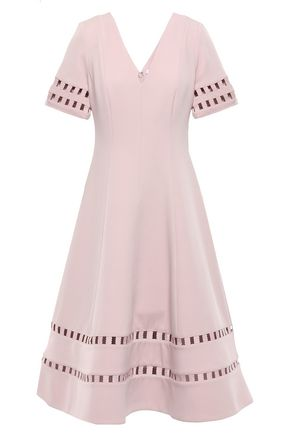 RACHEL GILBERT Adeline cutout crepe dress