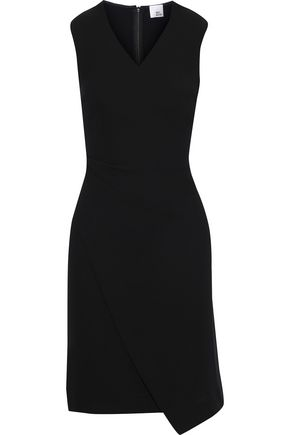 IRIS & INK Bo wrap-effect crepe dress
