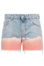 7 FOR ALL MANKIND Tie-dye denim shorts