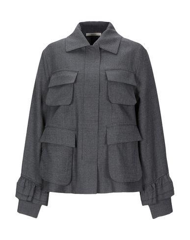 Фото - Женский пиджак ODEEH серого цвета
