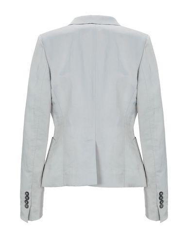 Фото 2 - Женский пиджак 6267 светло-серого цвета