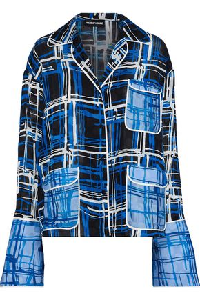 HOUSE OF HOLLAND Printed jacquard shirt