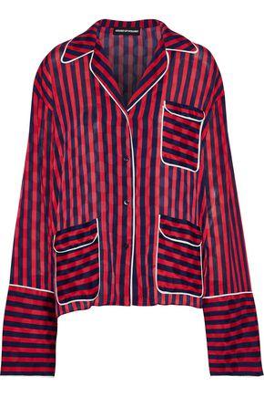 HOUSE OF HOLLAND Striped jacquard shirt