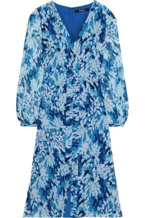 BADGLEY MISCHKA Printed chiffon dress
