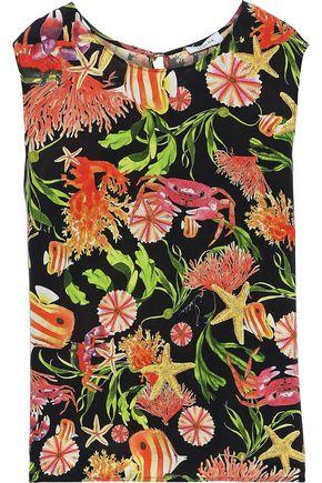 ISOLDA Shell silk top