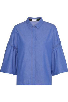 ISOLDA Acai cotton-chambray shirt