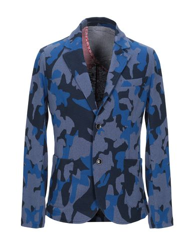 Фото - Мужской пиджак INDIVIDUAL синего цвета