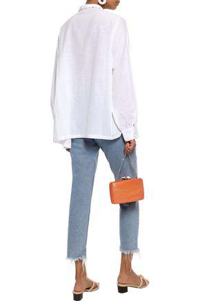 TALITHA Daria embroidered cotton-gauze shirt