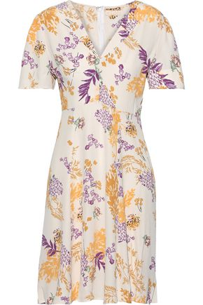 byTIMO Floral-print crepe de chine mini dress
