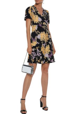 byTIMO Floral-print crepe de chine mini dress
