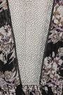 byTIMO Paneled shirred floral-print fil coupé georgette dress