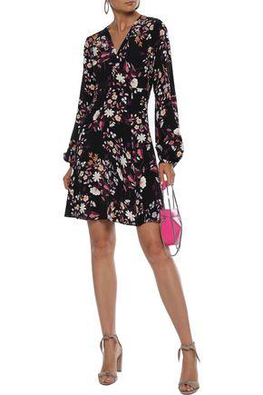 byTIMO Floral-print crepe de chine dress