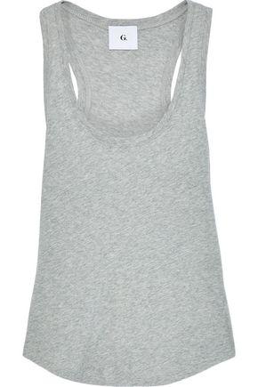 G. LABEL Mélange cotton-jersey tank