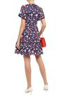 KATE SPADE New York Floral-print broderie anglaise cotton mini dress