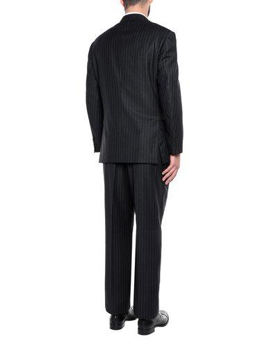 Фото 2 - Мужской костюм  цвет стальной серый