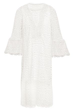 KATE SPADE New York Cotton guipure lace dress