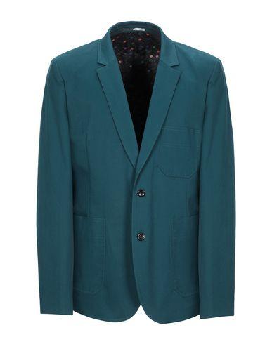 Фото - Мужской пиджак  изумрудно-зеленого цвета