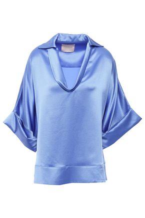 ROKSANDA Silk-satin crepe blouse