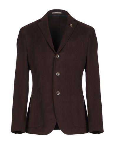 Фото - Мужской пиджак PAOLONI темно-коричневого цвета