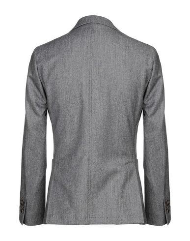 Фото 2 - Мужской пиджак PAOLONI цвет стальной серый